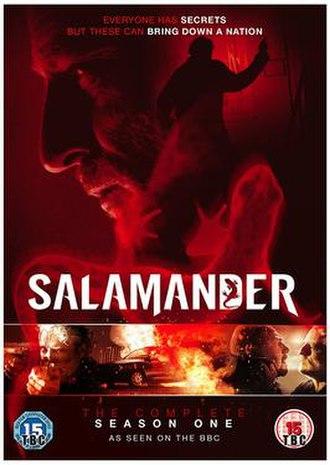 Salamander (TV series) - Image: Salamander DVD