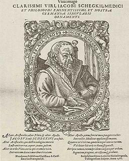 Jakob Schegk German physician