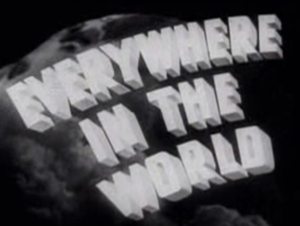 Everywhere in the World - Screenshot of the title frame