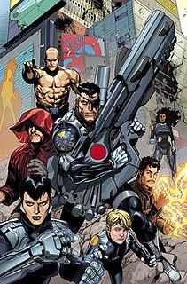 Secret Warriors (Team White) Fictional comic book group