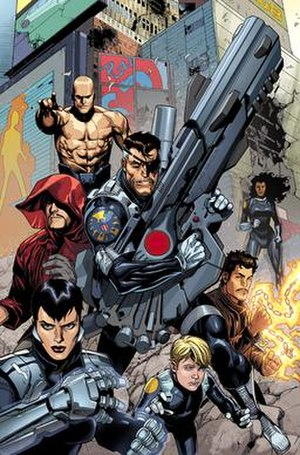 Secret Warriors (Team White) - Nick Fury and Team White. Art by Leinil Francis Yu