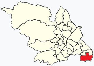 Mosborough (ward) Electoral ward in the City of Sheffield, South Yorkshire, England