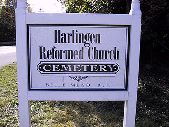 Harlingen, New Jersey - Harlingen Dutch Reformed Church Cemetery