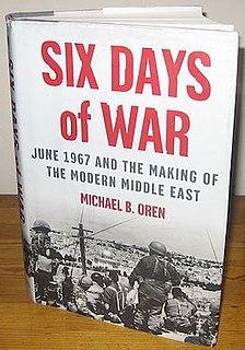 book by Michael Oren
