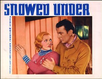 Snowed Under - theatrical release lobby card