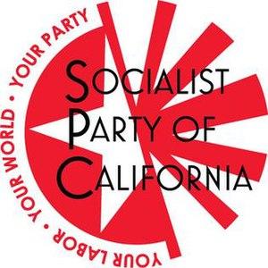 Socialist Party of California - Image: Socialist Partyof California Logo