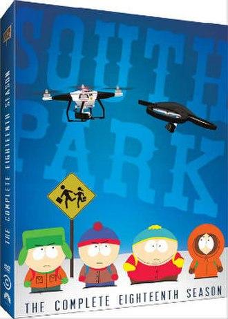 South Park (season 18) - DVD cover