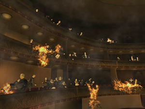 Parasite Eve (video game) - Image: Spontaneousfireparas iteeve