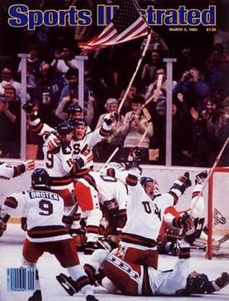 Miracle on Ice - The March 3, 1980 cover of Sports Illustrated ran without any accompanying captions or headlines.