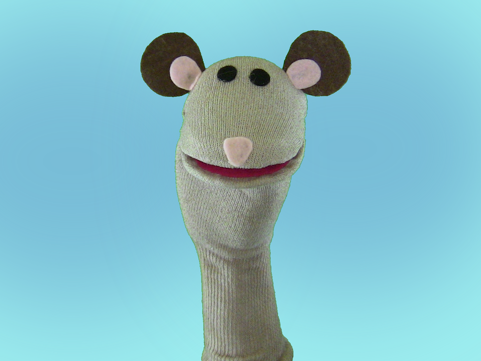 Squeak, a sock puppet from Totally Socks.png