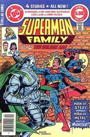 Metallo - Image: Superman family 217