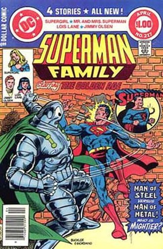 Metallo - Image: Superman family 217