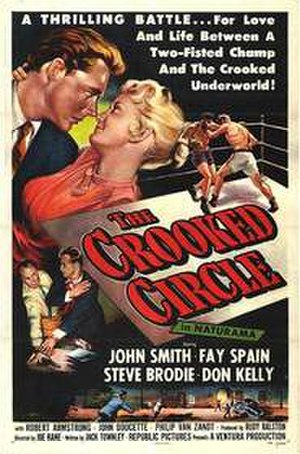 The Crooked Circle (1957 film) - Film poster
