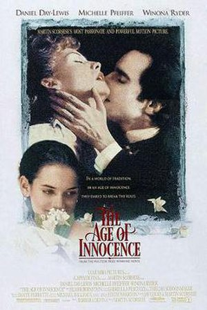 The Age of Innocence (1993 film) - Theatrical release poster