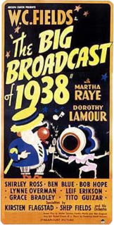 <i>The Big Broadcast of 1938</i> 1938 film by Mitchell Leisen