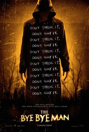The Bye Bye Man - Theatrical release poster