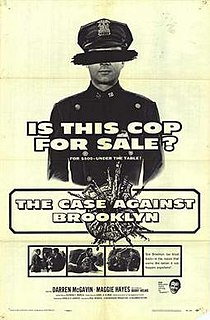 <i>The Case Against Brooklyn</i> 1958 film by Paul Wendkos