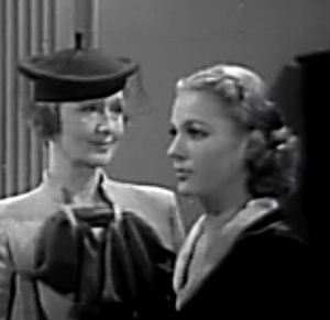 The Dark Hour (1936 film) - Hedda Hopper and Irene Ware in The Dark Hour (1936)