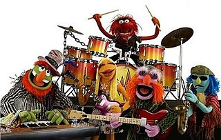 Dr. Teeth and The Electric Mayhem fictional Muppet rock house band that debuted on The Muppet Show