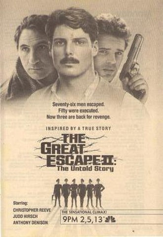 The Great Escape II: The Untold Story - Official poster