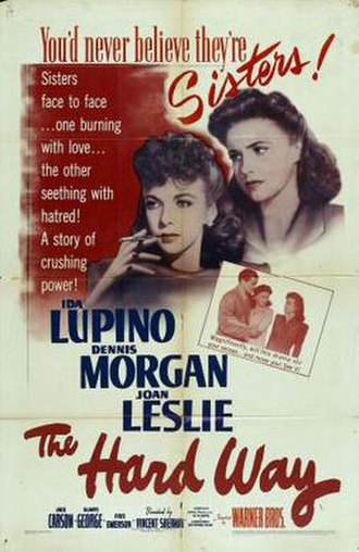 The Hard Way (1943 film) - Theatrical Poster