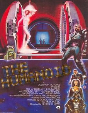 The Humanoid - Theatrical release poster