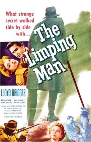 The Limping Man (1953 film) - Theatrical release poster
