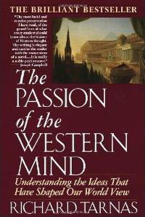 The Passion of the Western Mind - Cover of the first edition, featuring Thomas Cole's painting, The Architect's Dream