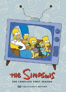 <i>The Simpsons</i> (season 1) Episode list for season of animated series