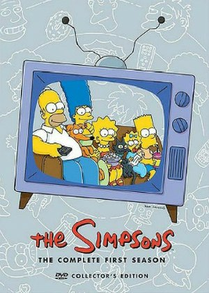 The Simpsons (season 1) - DVD cover