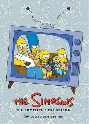The Simpsons (season 1) - DVD cover
