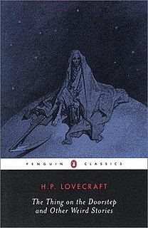 <i>The Thing on the Doorstep and Other Weird Stories</i> book by Howard Phillips Lovecraft