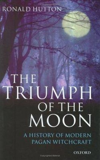 The Triumph of the Moon - The first edition cover of Hutton's book.