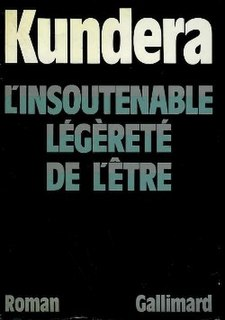 <i>The Unbearable Lightness of Being</i> 1984 Czech novel by Milan Kundera
