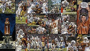 The University of Texas National Championship 2005 - The University of Texas National Championship 2005 by Opie Otterstad.