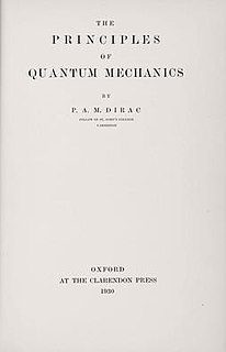 <i>The Principles of Quantum Mechanics</i> book by Paul Dirac