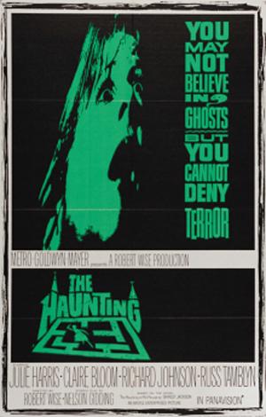 The Haunting (1963 film) - U.S. newspaper advertising art