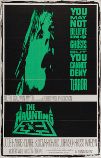 The Haunting (1963 film) - Theatrical release poster