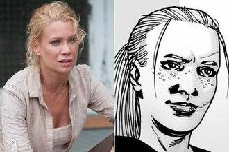 Andrea (The Walking Dead) - Image: Thewalkingdeadandrea