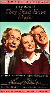 <i>They Shall Have Music</i> 1939 film by Archie Mayo