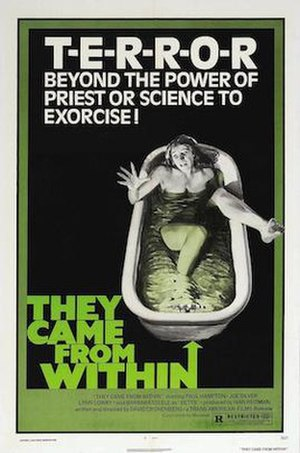 They Came From Within aka Shivers movie poster