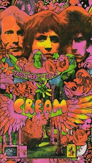 Those Were the Days (Cream album) - Image: Those Were the Days (Cream compilation) cover art