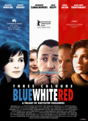 Three Colours trilogy - Image: Three Colors trilogy poster