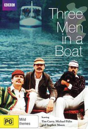 Three Men in a Boat (1975 film) - DVD cover.