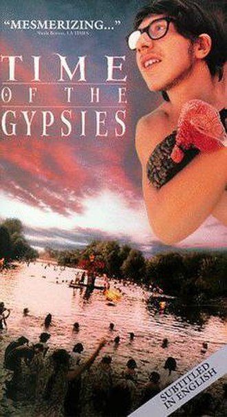 Time of the Gypsies - English language poster.