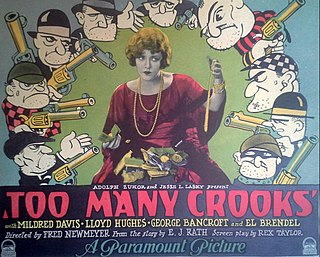 <i>Too Many Crooks</i> (1927 film) 1927 film by Fred C. Newmeyer