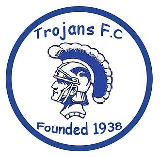 Trojans F.C. - Trojans F.C.'s current crest.