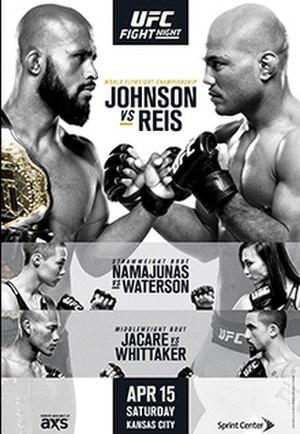 UFC on Fox: Johnson vs. Reis - Image: UFC FOX KC