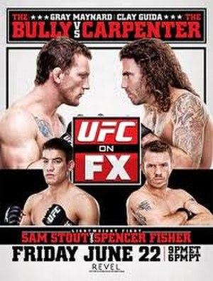 UFC on FX: Maynard vs. Guida - Image: UFC on FX, Maynard vs. Guida poster art