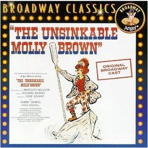 The Unsinkable Molly Brown (musical) - Original Broadway Cast Recording CD